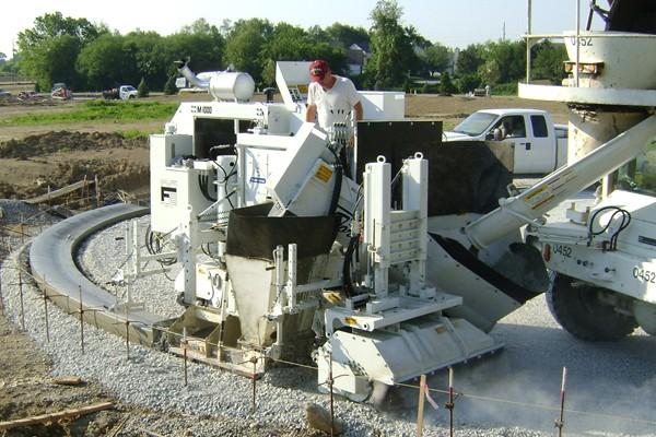 M 1000 Slipform Paving Machine Miller Formless Company