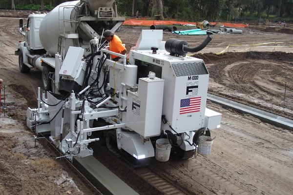 M 1000 Slipform Paving Machine Miller Formless Company