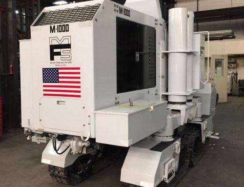 New M-1000 Slipform Paving Machine for Midwest Concrete
