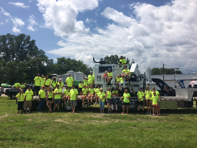 Miller Formless Participated in McHenry Parade