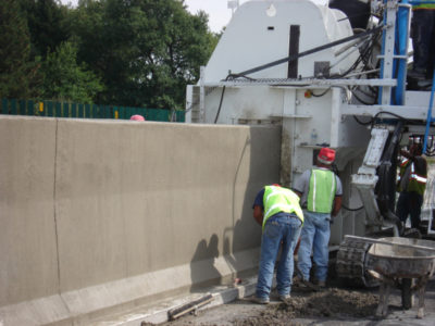 Concrete Barrier Wall Mold