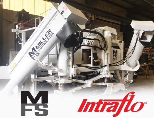 Miller Formless Teams Up with Intraflo Automatic Lubrication Systems