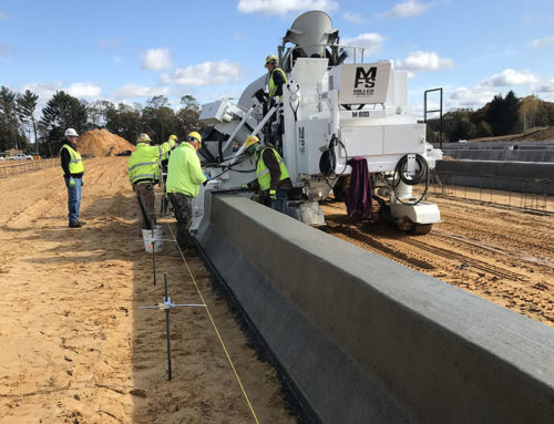 8000 Lineal feet of Barrier Wall for CR Meyer