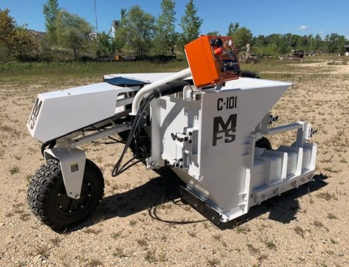 Miller Formless Acquires MBW Slipform Paver Models C-101 and CG-200