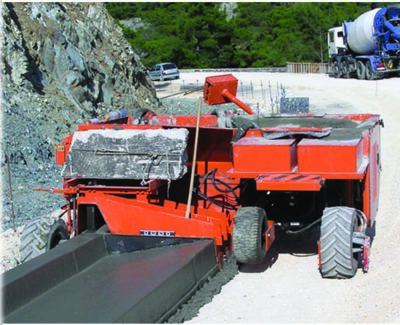 Curb and Gutter Paving Machines