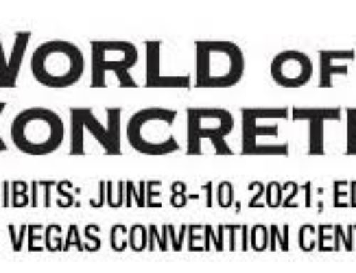 World of Concrete Set for June 2021
